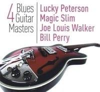 LUCKY PETERSON / MAGIC SLIM / JOE LOUIS WALKER / BILL PERRY - 4 BLUES GUITAR MASTERS  1