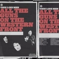 THIN LINE MEN - ALL THE GUNS ON THE WESTERN FRONT - CD SINGLE 1