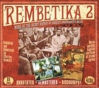 VARIOUS- REMBETIKA 2 - MORE MUSIC OF THE GREEK UNDERGROUND 1908-1946, 4 CD  1