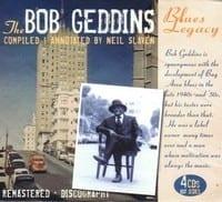 VARIOUS ? THE BOB GEDDINS BLUES LEGACY, 4 CD  1