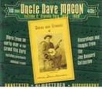 UNCLE DAVE MACON - CLASSIC CUTS 1924 ? 1938 ? VOL 2, 4 CD  1